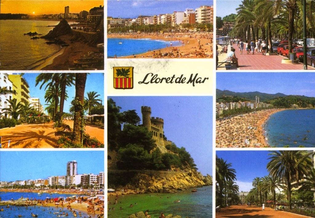 lloret de mar carte 196 ES 003/ Lloret de Mar   World on postcards