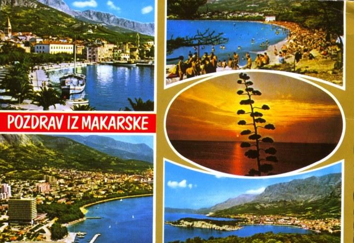CROATIA-36a,Makarska