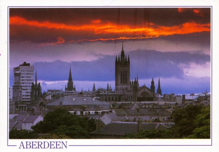 UK-SCOTLAND-1a, Aberdeen