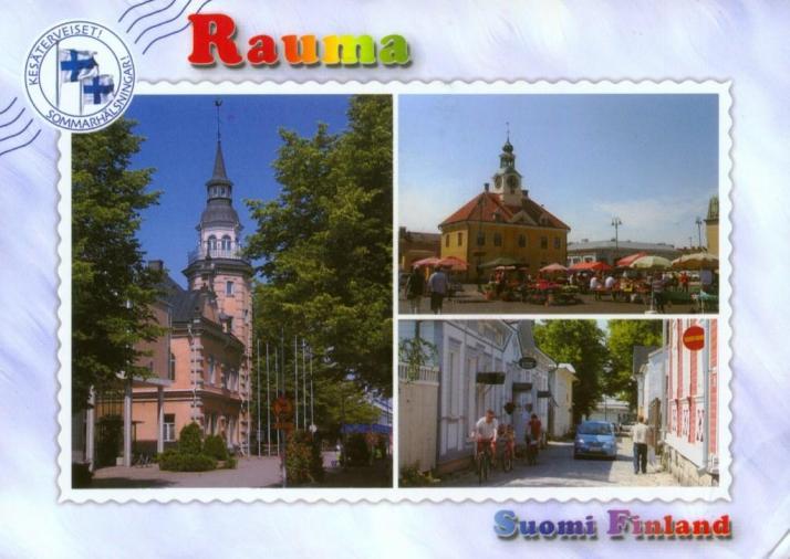 FINLAND-9a, Rauma