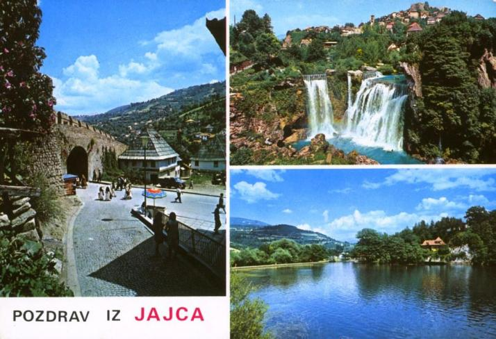 BOSNIA-11a,Jajce